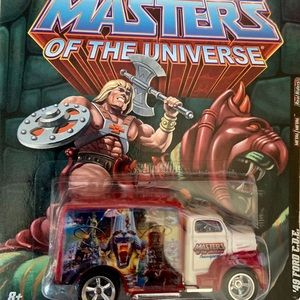 (8) Masters of the Universe Hot Wheels Car Set